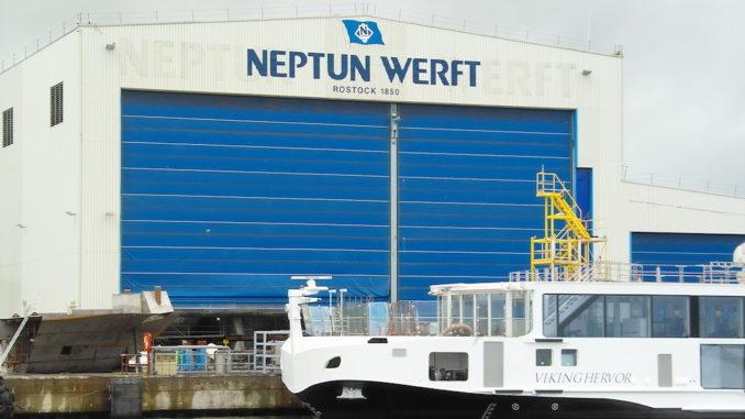 Neptun Werft liefert Schiffe an Viking River Cruises. Foto: Neptun Werft