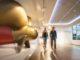 Im Besucherzentrum der Meyer Werft wird der Bau eines Kreuzfahrtschiffs anschaulich dargestellt und erklärt. Foto: Papenburg Marketing GmbH