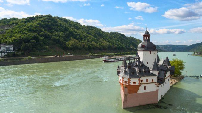 Burg Pfalzgrafenstein auf dem Rhein bei Kaub. Foto: nicko cruises