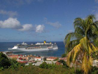 Costa Kreuzfahrten in Grenada. Foto: Costa Crociere