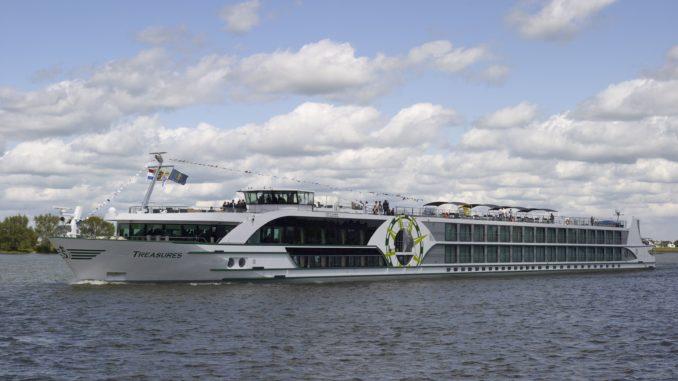 MS Treasures wird diese Saison auf dem Rhein unterwegs sein. Foto: VIVA Cruises