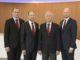 Die Geschäftsführung der Meyer Werft (v.l.n.r.): Thomas Weigend, Dr. Jan Meyer, Bernard Meyer und Tim Meyer. Foto: Meyer Werft