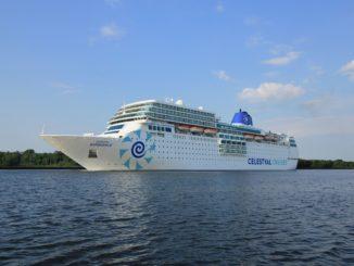 Die Celestyal Experience von außen. Foto: Celestyal Cruises