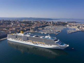 Die Costa Deliziosa sticht heute in Triest für eine Italien-Kreuzfahrt in See . Foto: Costa Crociere