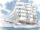 Nächstes Jahr wird die Sea Cloud Spirit das erste Mal Fahrt aufnehmen. Grafik: Sea Cloud Cruises