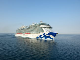 Die Enchanted Princess sticht 2022 in See. Foto: Princess Cruises