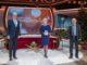 Johannes Zurnieden von Phoenix Reisen bei der ZDF Spendengala. Foto: ZDF / Sascha Baumann