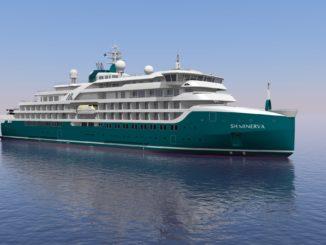 Der Neubau Minerva startet 2021 für Swan Hellenic. Foto: Swan Hellenic