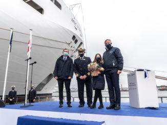 Übergabe der MSC Virtuosa. Foto: MSC Cruises/ Ivan Sarfatti
