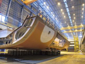Baustart für Expeditionsschiff SH Vega. Foto: Swan Hellenic