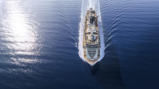 MSC Seaside auf See. Foto: MSC Cruises
