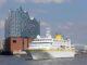 MS Hamburg vor der Elbphilharmonie. Foto: Plantours