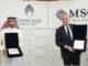 Fawaz Farooqui, Geschäftsführer von Cruise Saudi, und Pierfrancesco Vago, Executive Chairman von MSC Cruises. Foto: MSC Cruises