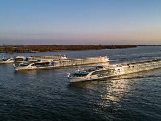 Die Flotte von Viva Cruise. Foto: Scylla/Viva Cruises